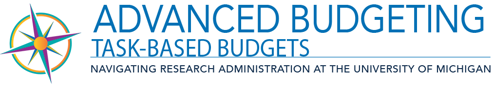 Advanced Budgeting Task-Based Budgets