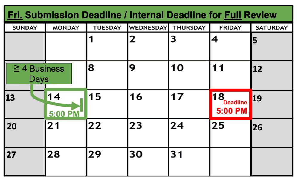 Deadline Calendar - Friday - Full Review