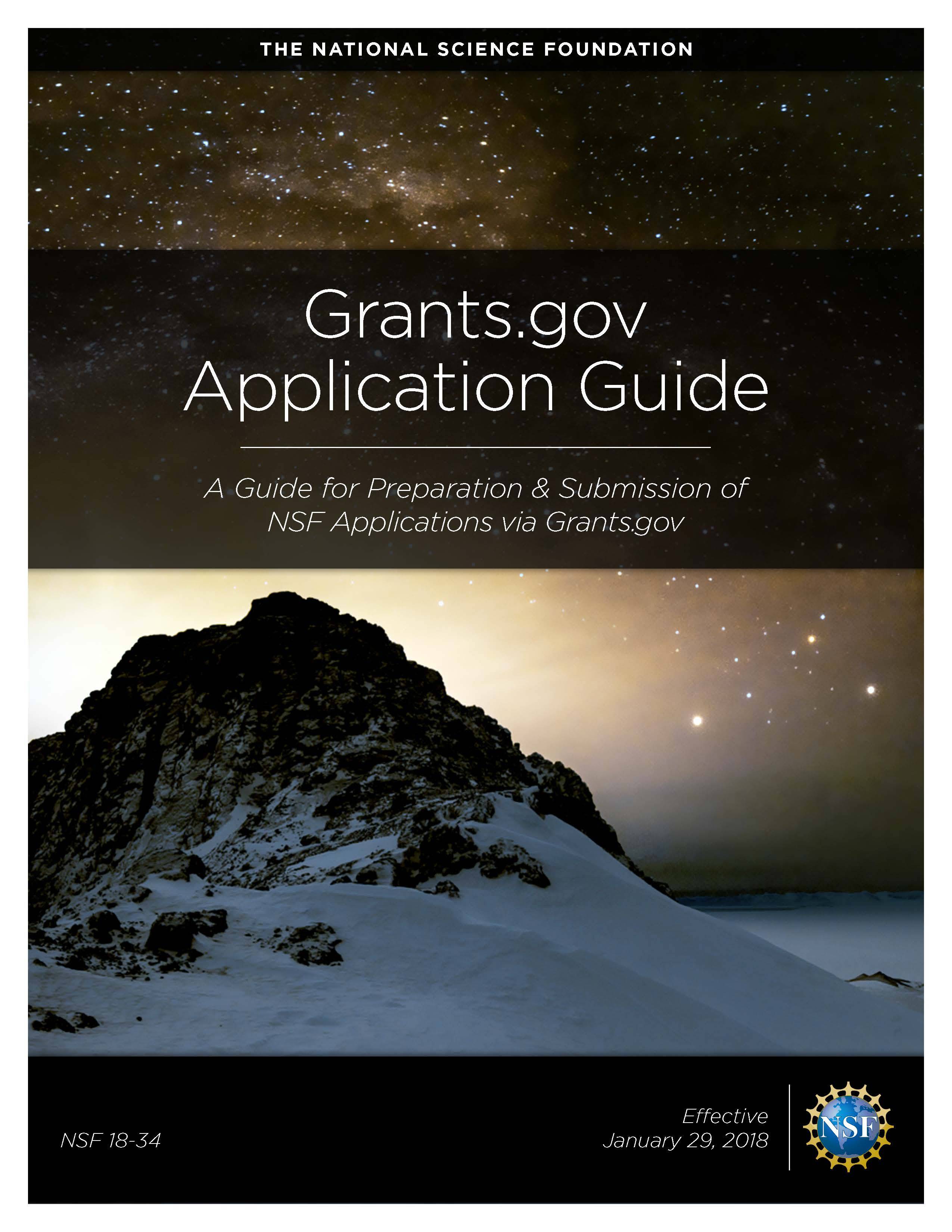NSF Grants.gov Application Guide