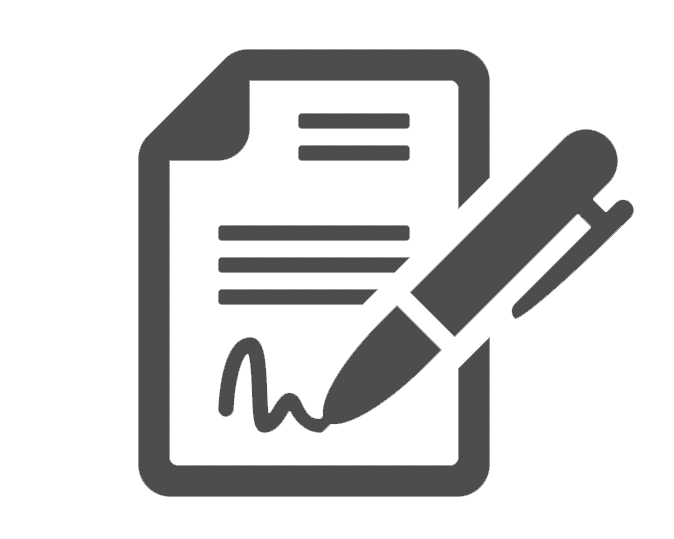 Document (agreement) icon