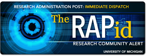 RAPid Research Administration Post Immediate Dispatch - Community Alert